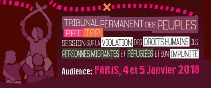 Tribunal Permanent des Peuples : la sentence condamne les politiques migratoires